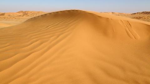 sand deset dune in oman 1 Footage