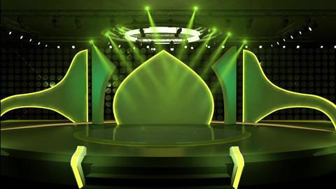 Entertainment TV Studio Set 29-Virtual Background Loop ライブ動画