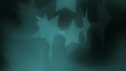 Elegant Stars 1 Loopable Background stock footage