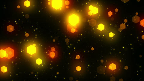 Fantasy Hexagons 3 Loopable Background Animation