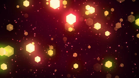 Fantasy Hexagons 4 Loopable Background Animation
