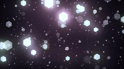 Fantasy Hexagons 5 Loopable Background Animation