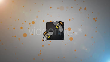 The Particles Logo After Effects Projekt
