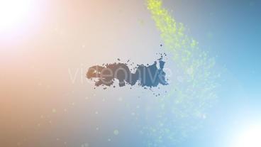 The Particles Logo Plantilla de After Effects