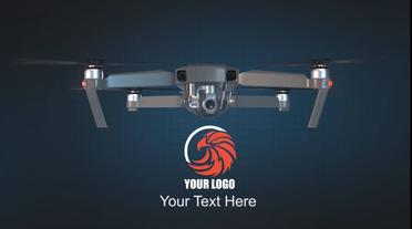 Drone Logo Opener V2 After Effects Template