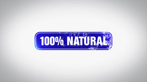 100% Natural Word 3D Animated Wooden Stamp Animation Animation