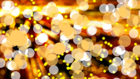 Glittering bokeh lights Animation