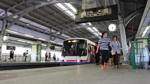 The Bangkok Mass Transit System (BTS) Footage