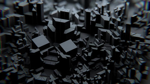 VJ Dark Geometry Animation