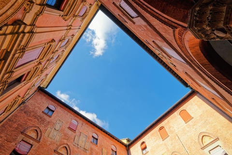 Courtyard of Royal Spanish College in University of Bologna Photo