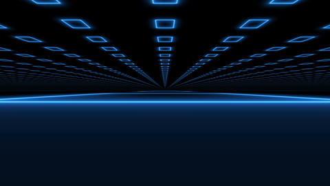 Abstract rectangles motion technology background Animation
