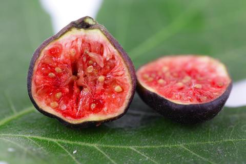 Fresh figs Foto