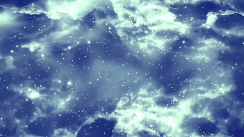 Galaxy Nebula 3 Loopable Background Animation