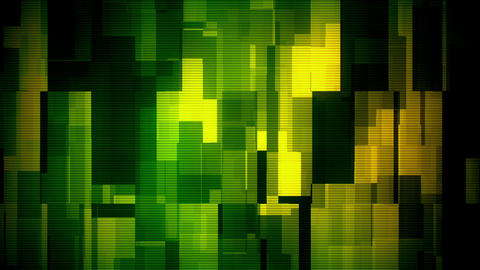 Glitch Moving Boxes 10 Loopable Background Animation