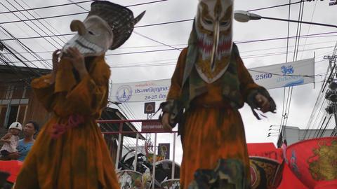 Phi Ta Khon (Ghost Festival), festivals held in Dan Sai, Loei province, Thailand Live Action