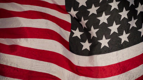 Waving American Flag ビデオ