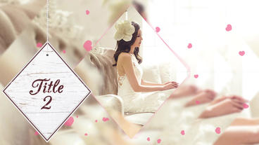 Wedding slideshow After Effects Templates