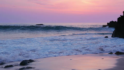 Surf on the Beach after Sunset 画像