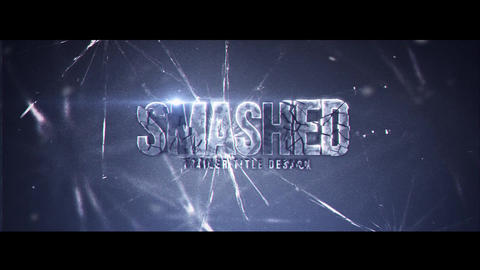 Smashed After Effects Template