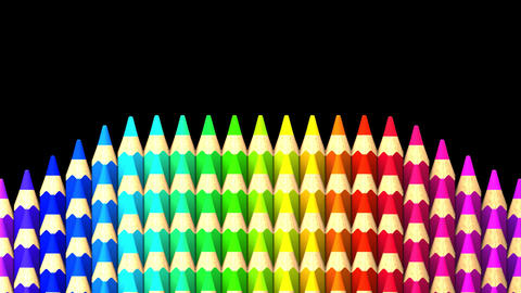 Color Pencils Animation