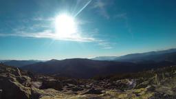 Sunny Mountain Landscape ビデオ