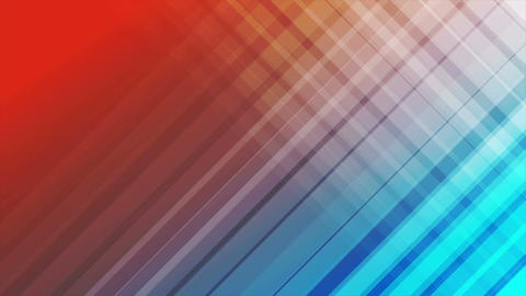Blue and red diagonal stripes abstract video animation Animation