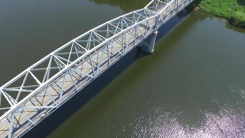 Gongju-si Iron bridge Footage