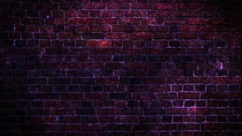 Colorful Grunge Wall Background Animación