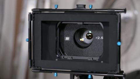 Camera matte box Footage