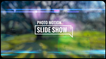 Slideshow Photo Motion After Effects Template