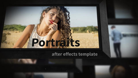 Portraits After Effects Template