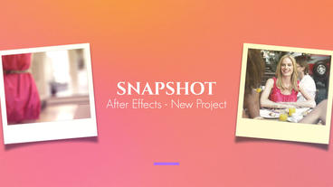 Snapshot After Effects Templates