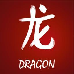 Japanese kanji - Dragon Vector