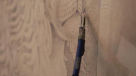 Drawing detail Footage
