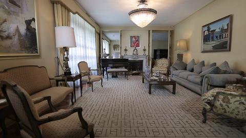 House living room Footage