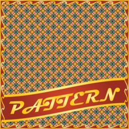 Colorful repeatable pattern background Vektor