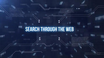 Search Through Web After Effects Template
