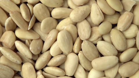 Almonds. Vertical and smooth movement of the motorized slide, on the Almonds Footage