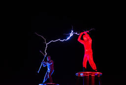 Lords of Lightning high voltage electricity show Photo