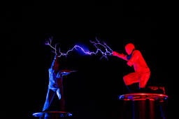Lords of Lightning high voltage electricity show Foto