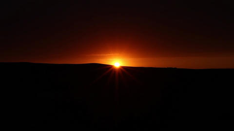 Mountains timelapse sunset Footage