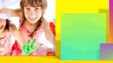 Color Kids Memories After Effects Template