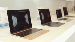 MacBook Pros on display Live Action