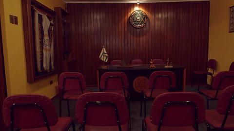 Firestation conference room Footage