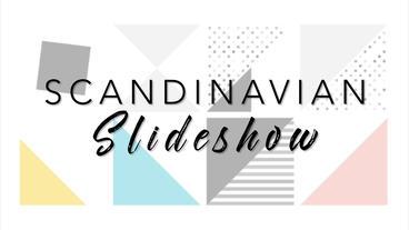 Scandinavian Slideshow – After Effects Template After Effects Template