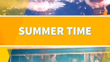 Summer Time After Effects Template