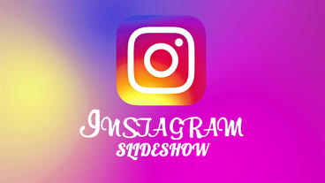 Instagram slideshow Plantilla de After Effects