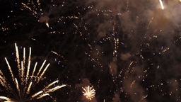 Fireworks in the sky celebrating lunar new year 16 Footage