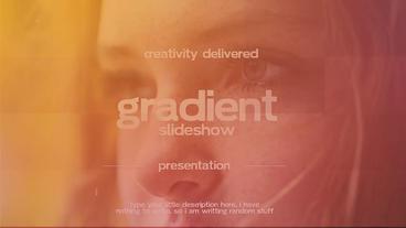 Gradient Slideshow Premiere Pro Template