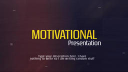 Motivational Presentation Premiere Proテンプレート